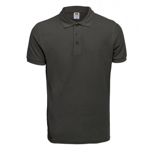 Fruit of the Loom Premium Polo Light Graphite