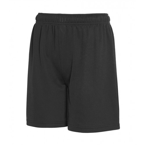 Fruit of the Loom Kids Performance Shorts Black