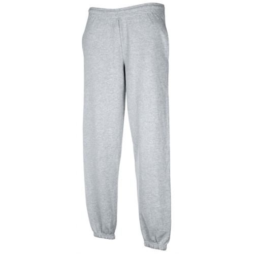 Fruit of the loom Jog Pants Cuffs Heather Grey