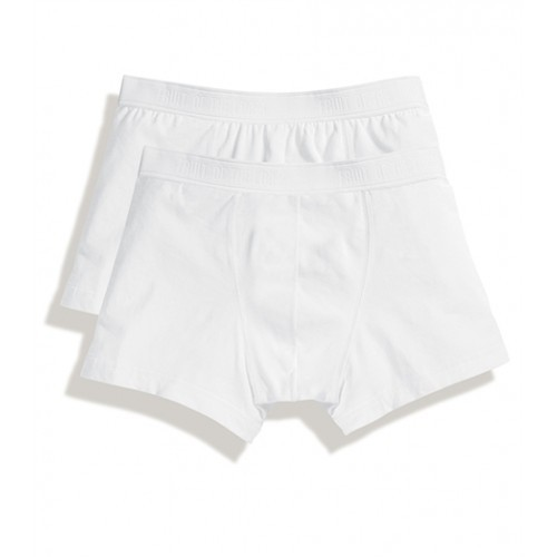 Fruit of the loom Classic Shorty 2 Pack White