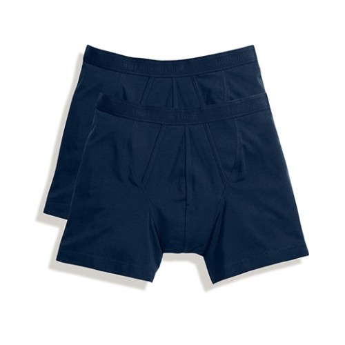 Fruit of the loom Classic Boxer 2 Pack Deep Navy
