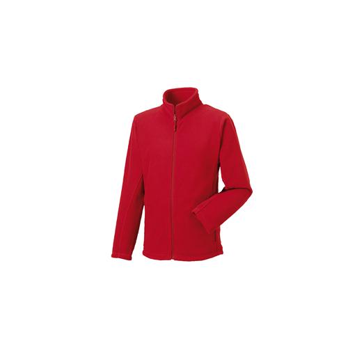 Russell Full Zip Outdoor Fleece Classic Red