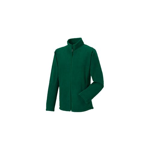 Russell Full Zip Outdoor Fleece Bottle Green