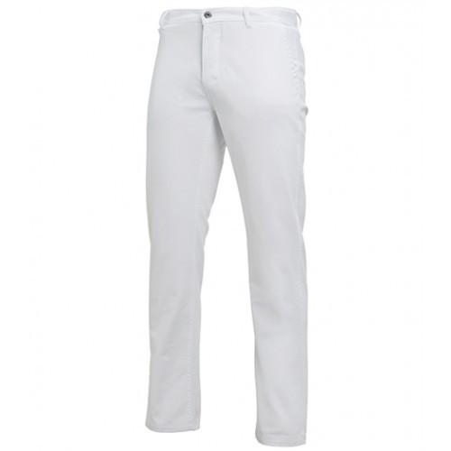 Asquith Mens Classic Fit Chino Regular White