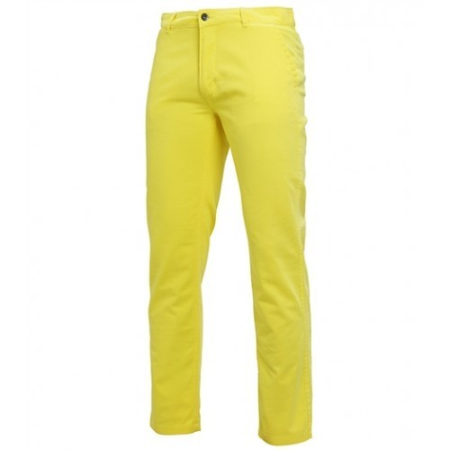 Asquith Mens Classic Fit Chino Tall Lemon Zest