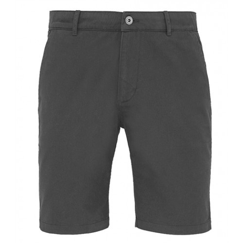 Asquith Mens Classic Fit Shorts Slate