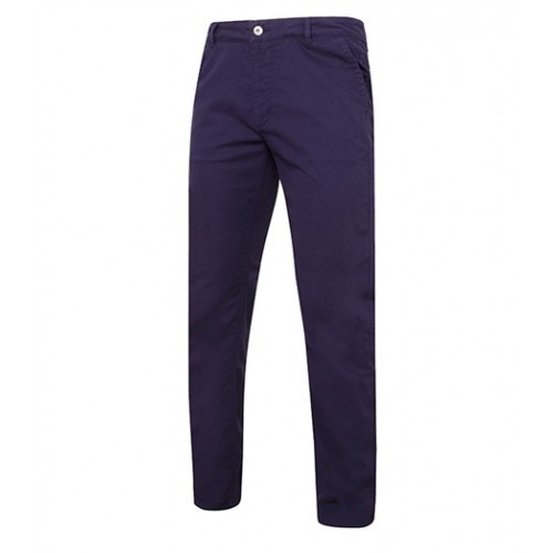 Asquith Men's slim fit cotton chino Navy