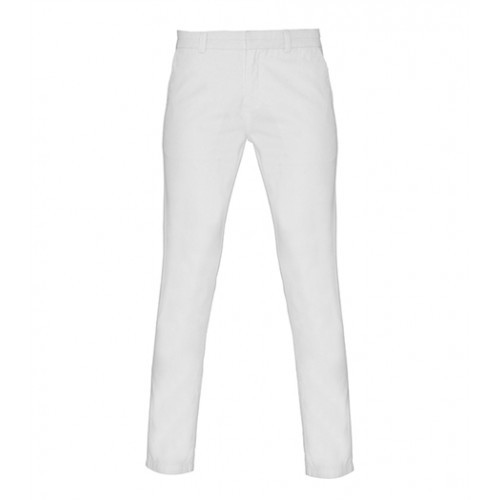 Asquith Womens Classic Fit Chino White