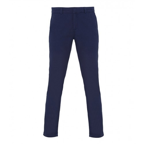 Asquith Womens Classic Fit Chino Navy