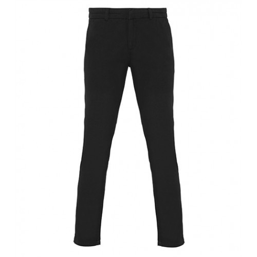 Asquith Womens Classic Fit Chino Black