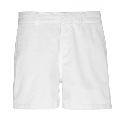 Asquith Womens Classic Fit Short White