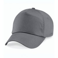 Beechfield Original 5 Panel Cap Graphite Grey