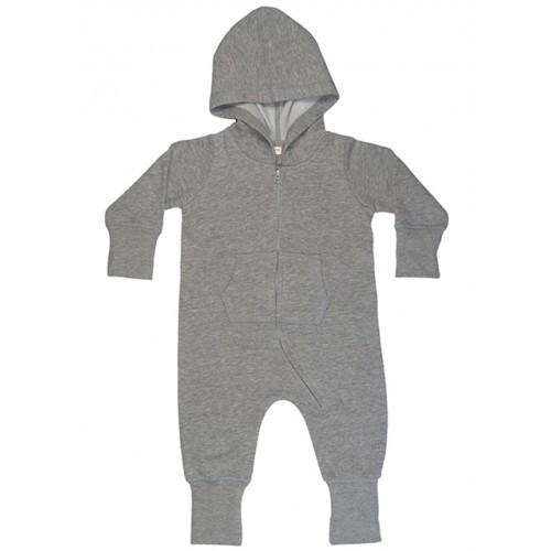 Babybugz Baby All-in-One Washed Grey Melange