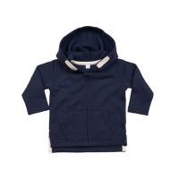 Baby Hoodie Nautical Navy