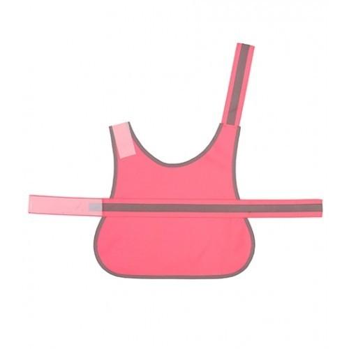 Yoko Hi Vis Reflective Border Dog's Vest Pink