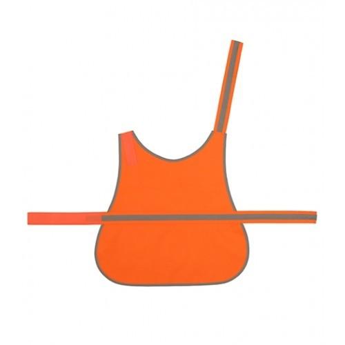 Yoko Hi Vis Reflective Border Dog's Vest Orange