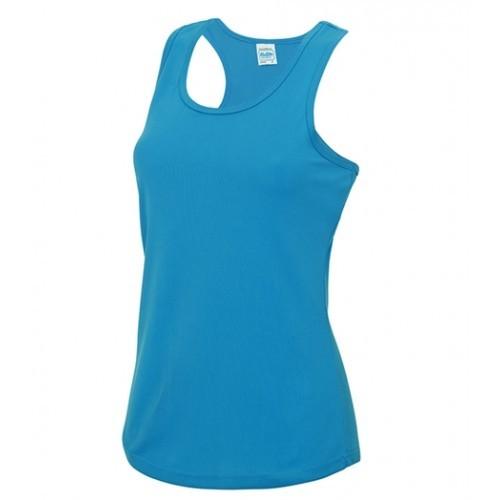 Just Cool Girlie Cool Vest Sapphire Blue