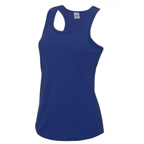 Just Cool Girlie Cool Vest Royal Blue