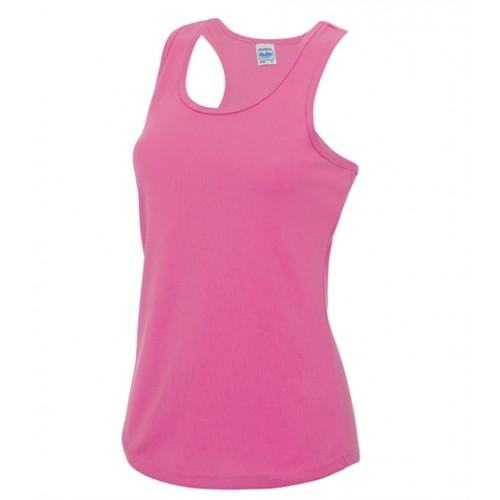 Just Cool Girlie Cool Vest Electric Pink
