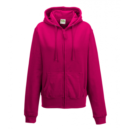 Just Hoods Girlie Zoodie Hot Pink