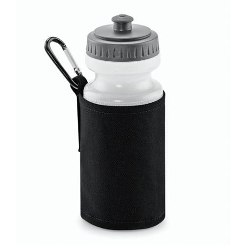 Quadra Water Bottle and Holder Black