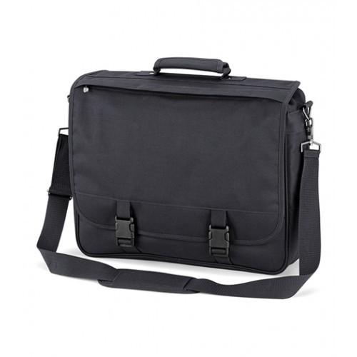 Quadra Portfolio Briefcase Dark Graphite