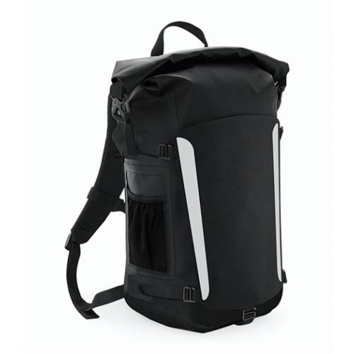 Quadra SLX 25 Litre Waterproof Backpack Black/Black