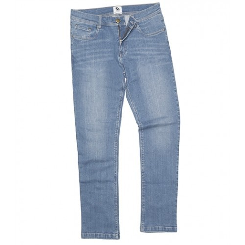 So Denim Leo´s Straight Jeans Light Blue Wash