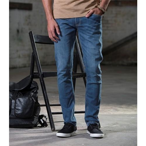 So denim Men's Max Slim Jeans Mid Blue Wash