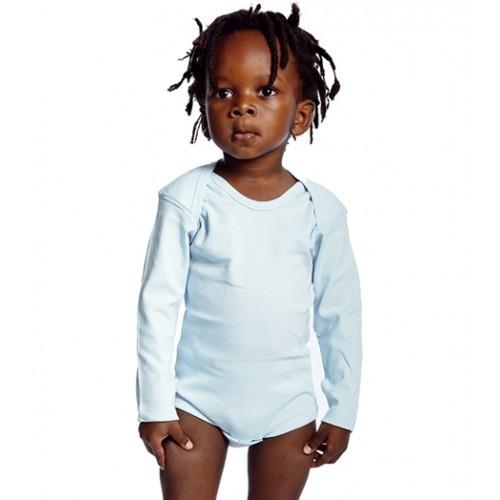Label Free Baby Body Long Sleeve White