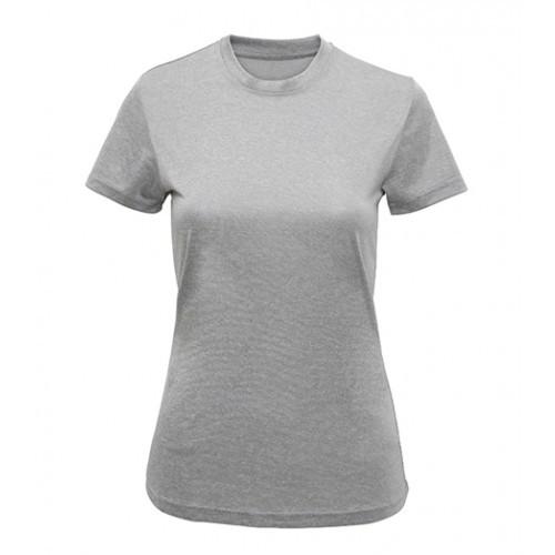 Tri Dri Women's TriDri performance t-shirt Silver Melange