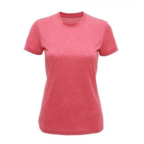 Tri Dri Women's TriDri performance t-shirt Pink Melange