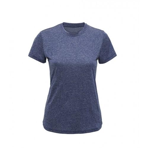Tri Dri Women's TriDri performance t-shirt Blue Melange