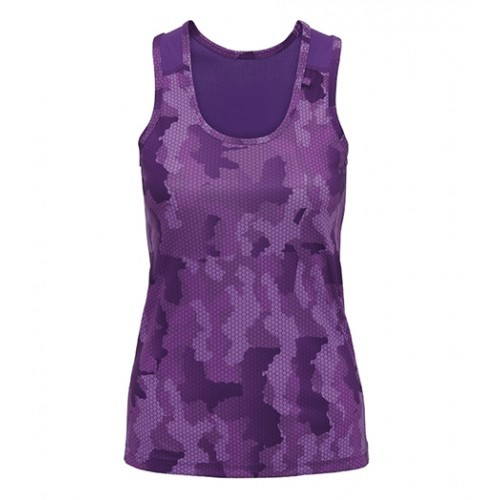 Tri Dri Women's TriDri Hexoflage™ performance Vest Camo Purple