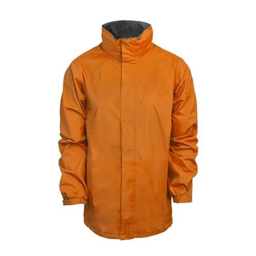 standout Ardmore Waterproof Shell Jacket Sun Orange/Seal Grey