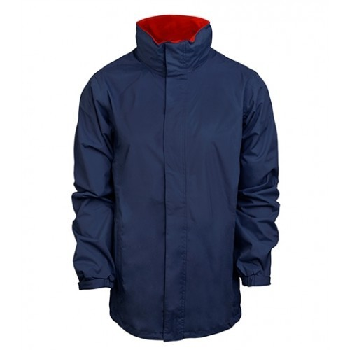 standout Ardmore Waterproof Shell Jacket Navy/Classic Red