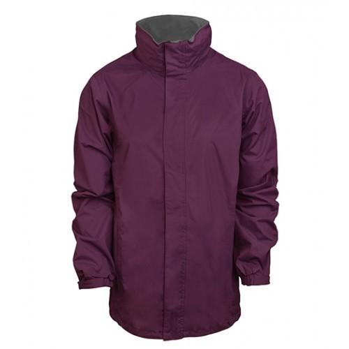 standout Ardmore Waterproof Shell Jacket Majestic Purple/Seal Grey