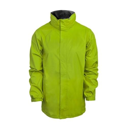 standout Ardmore Waterproof Shell Jacket Key Lime/Seal Grey