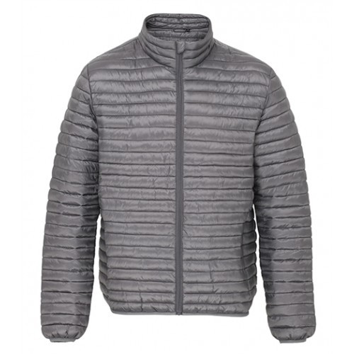 2786 Men's Tribe Fineline Padded Jacket Steel