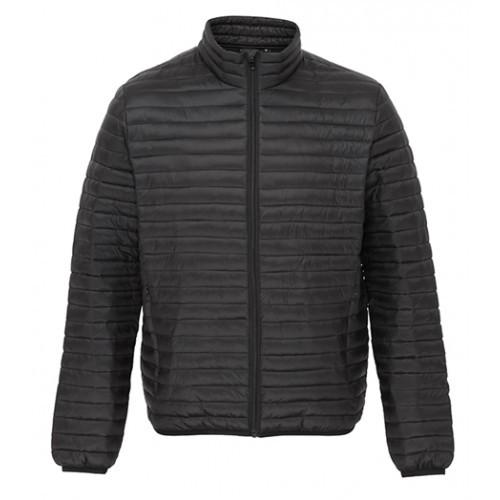 2786 Men's Tribe Fineline Padded Jacket Black