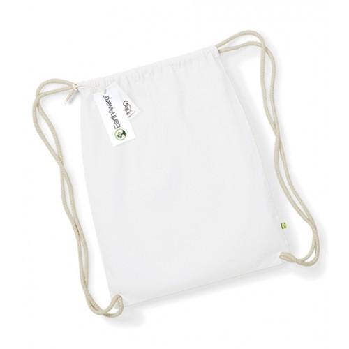 Westford mill W810 EarthAware™ Organic Gymsac White