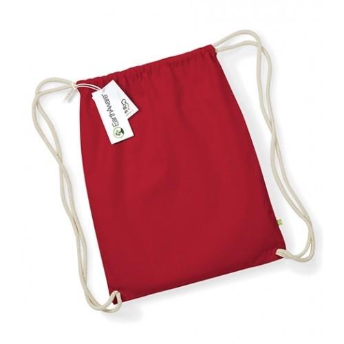 Westford mill W810 EarthAware™ Organic Gymsac Classic Red