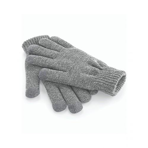 Beechfield Touch Screen Smart Gloves Grey