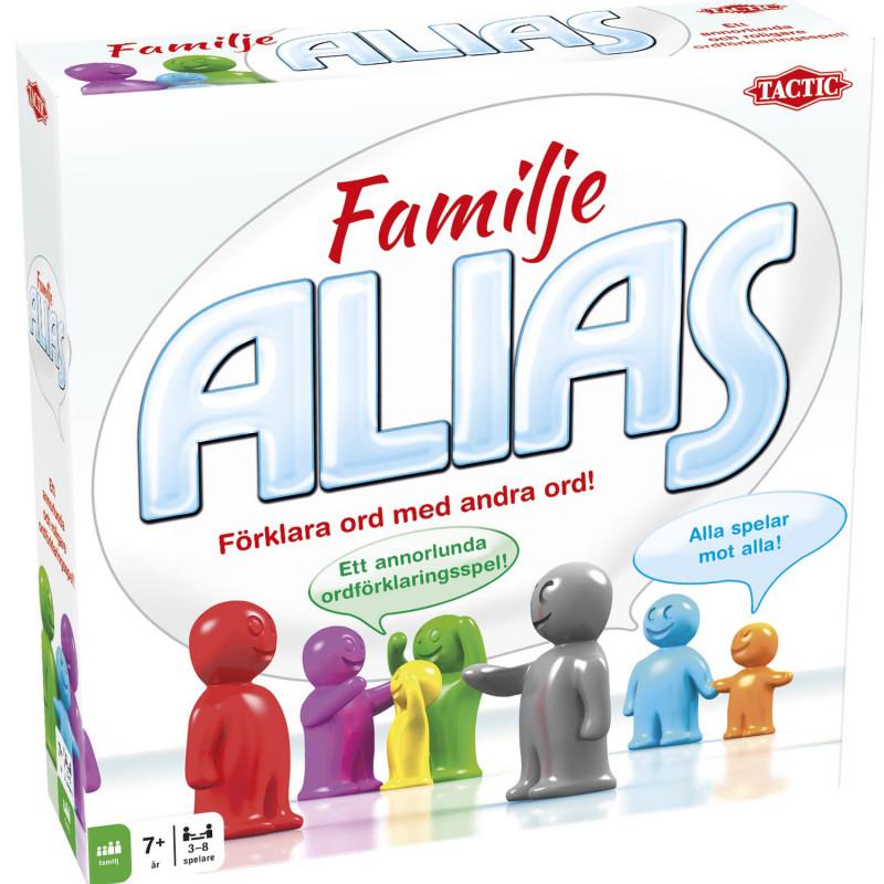 Tactic Spel Familje Alias