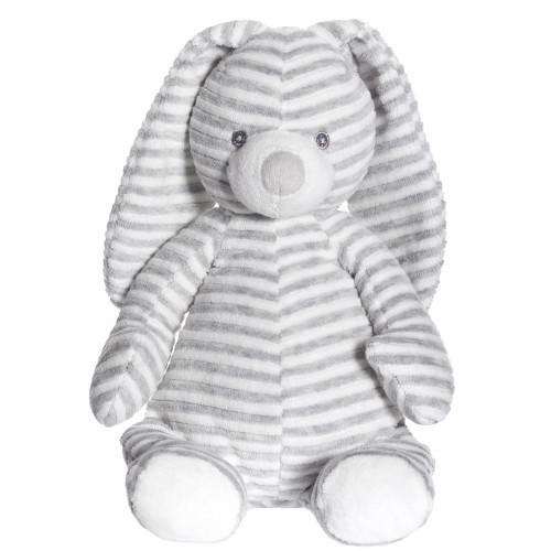 Teddykompaniet Cotton Cuties kanin grå