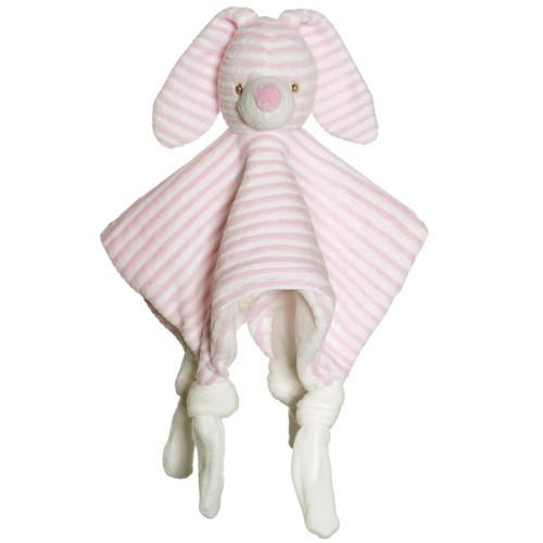 Teddykompaniet Cotton Cuties snuttefilt rosa