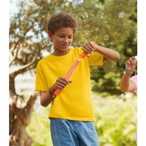 Fruit of the loom Kids Sofspun T Yellow