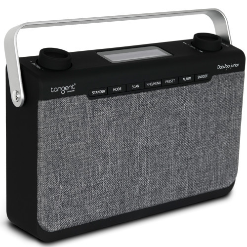 Tangent DAB2go Junior Radio Black