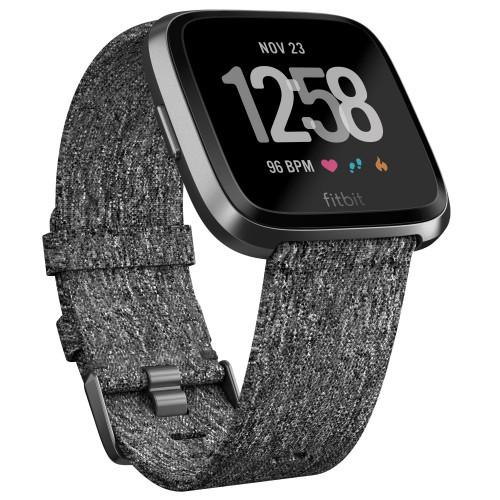 Fitbit Versa SE Charcoal Woven