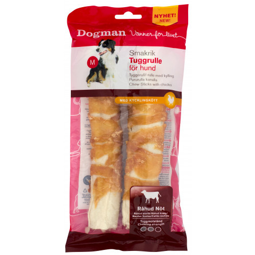 DOGMAN Tuggrulle 2st (12-pack)